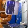 Innovadora técnica para la reparación de células solares.