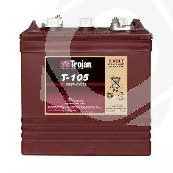 Batería ciclo profundo Trojan T-105 6V 250Ah C100