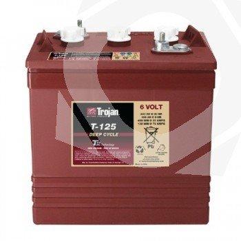 Batería ciclo profundo Trojan T-125 6V 266Ah C100