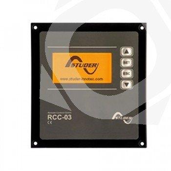 Control Remoto Studer RCC03 Programador y datalogger encastrable