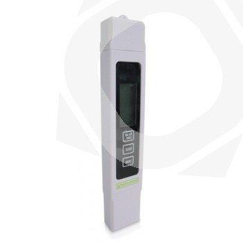 Medidor de TDS, conductividad y temperatura del agua Greencontrol
