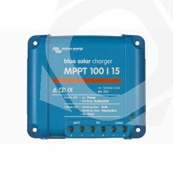 Regulador BlueSolar Victron MPPT 100/15 a 12/24V y hasta 15A de carga