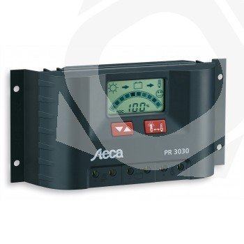 Regulador Solar STECA PR3030 30A 12/24V Display LCD