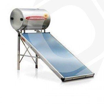 Montado del Kit termosifón Chromagen COMFORT 200L