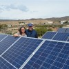 Nueva familia autosuficiente en Almeria