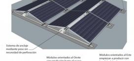 Orientación placas solares Este-Oeste