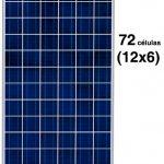 placa solar de 24v y 72 celulas