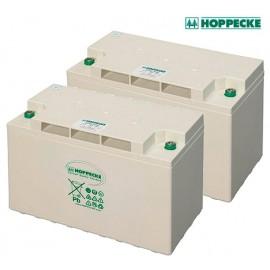 Batería AGM Hoppecke Sun Power VR M de 60Ah hasta los 250Ah