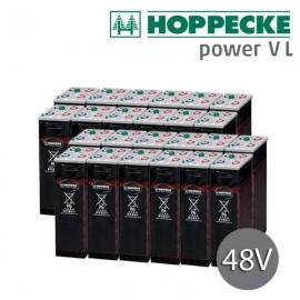 Batería estacionaria 48V Hoppecke Power VL 2-270