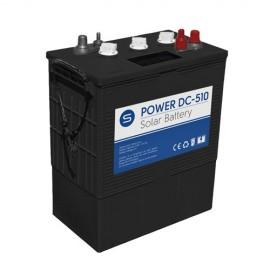 Batería solar de ciclo profundo power DC 6v 510Ah en C100