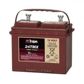 Batería Trojan de ciclo profundo a 12 voltios 24TMX