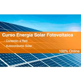 Curso Online de ESF con Conexión a red y Autoconsumo solar