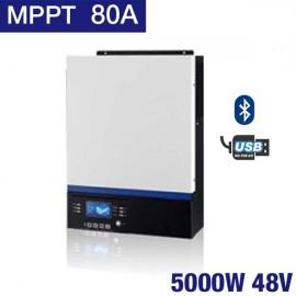 Inversor Huber Connect 5048mppt de 5000W y 48V con MPPT de 80A