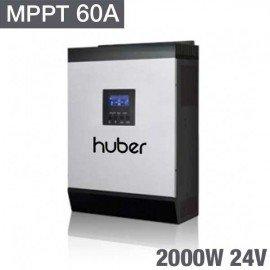Inversor 3 en 1 Huber mppt2024 plus con MPPT 60A