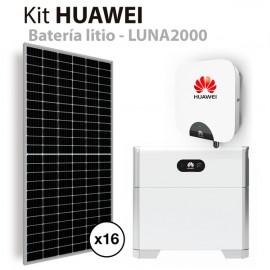 Kit solar autoconsumo Huawei de 6kW con batería de litio HUAWEI
