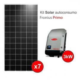 Kit solar autoconsumo Fronius 3kw