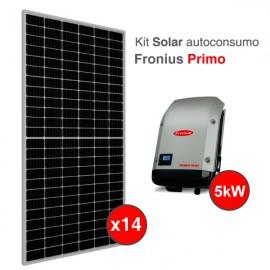 Kit solar de autoconsumo Fronius de 5kW
