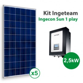 Kit solar de autoconsumo Ingeteam 1Play de 2000kWh/año