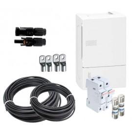 Material eléctrico k3 para instalaciones aisladas con 1 string