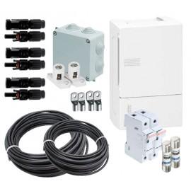 Material eléctrico k5 para instalaciones aisladas con 3 strings