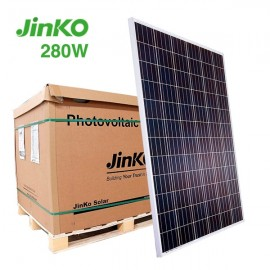 palé de placas solares jinko 280w 60 células solares