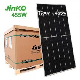 Palé de placas solares 455W Jinko Tiger HC mono PERC