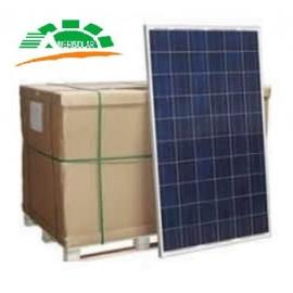 Palé con 26 unidades del panel solar Amerisolar de 255 watios pico