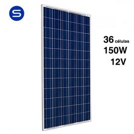 Placa solar 12v y 150W económica SCL