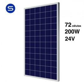 Placa solar 24v y 200W SCL