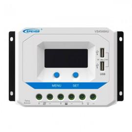Regulador solar PWM de 60 amperios VS6024AU con display