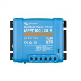 Regulador MPPT 100/20 de BlueSolar para sistemas a 12/24V
