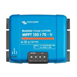 Regulador Blue solar de victron con terminales Tr