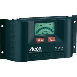 Regulador Solar STECA PR2020 20A 12/24V Display LCD