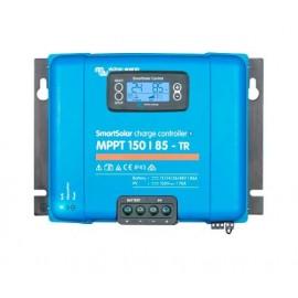 Victron SmartSolar MPPT 150/100 con terminales Tr y el display incorporado