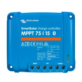 Regulador Victron MPPT Smart Solar 75/15 a 12/24V