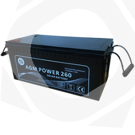 Perfil de la Batería AGM POWER a 12V 120ah