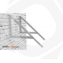 Estructura fachada para panel solar de 12 voltios 150Wp
