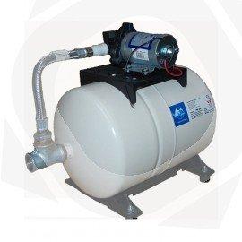 Grupo doméstico de presión SHURFLO a 230V con calderín de 20L