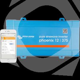 Inversor Victron Phoenix VE.Direct 12v 375va frontal