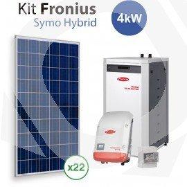 Kit Solar Autoconsumo Baterías Fronius Symo Hybrid 4Kw