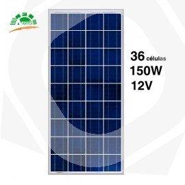 Panel solar Amerisolar de 150w y 12v policristalino