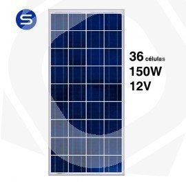 Panel Solar Policristalino de 150W a 12V policristalino