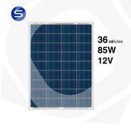 Panel solar scl de 85wp a 12V y 36 células