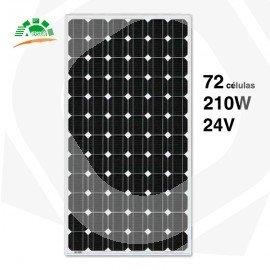 Panel solar amerisolar 210w y 24v monocristalino