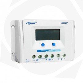 Regulador solar de 20 amperios VS2024A con display digital