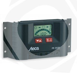 Regulador Solar STECA PR3030 30A 12/24V Display LCD