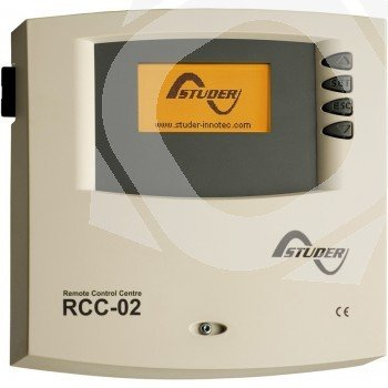 Datalogger y programador RCC-02 Studer