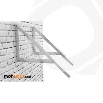 Estructura fachada para panel solar de 190w 24v
