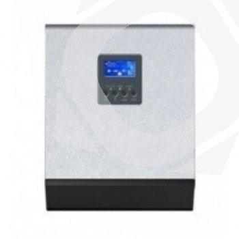 Inversor Regulador Cargador Huber con display LCD para monitorización de la instalacion fotovoltaica
