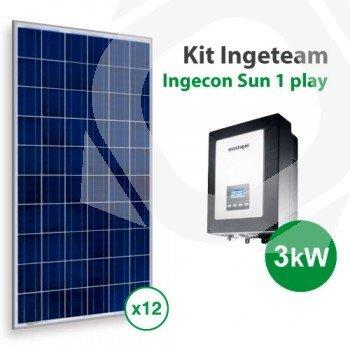 Kit solar de autoconsumo para una vivienda media en España